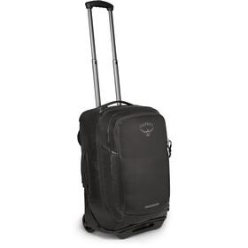 Osprey Rolling Transporter Carry-On Travel Luggage, negro